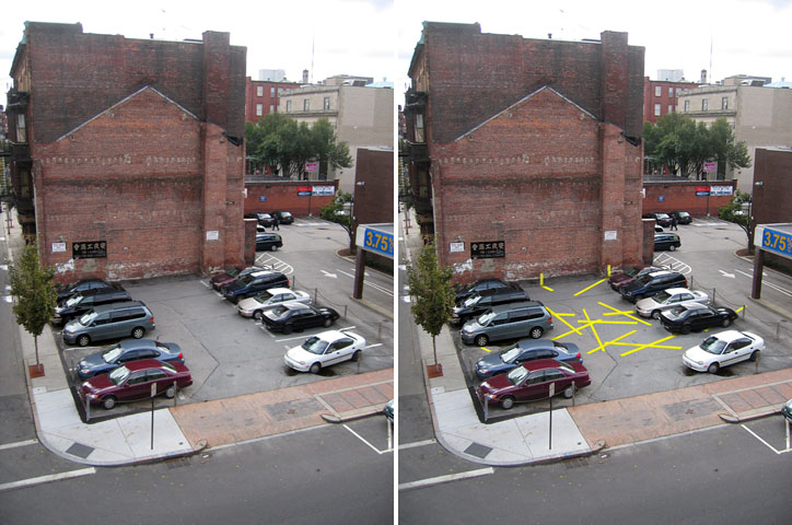 The design office abstract parking lot for Parking solutions for small spaces