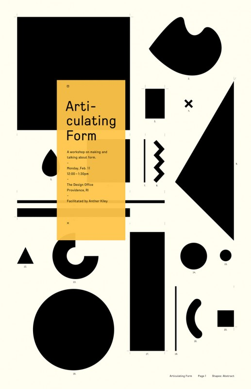 Articulating-Form-poster